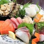 ルパド ナオシマ - 料理写真:新鮮なお造り
