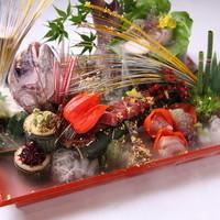 三瀧荘 - 五感を刺激する料理の数々