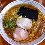 中河 - 中華そば(麺NEW!)