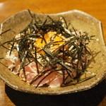 我武者羅 - 2013.9 ささみのユッケ(700円)