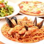 グラニータ - 料理写真:人気NO.1パスタの『地中海風トマトソース』