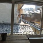 うめぞの カフェアンドギャラリー - 窓からの風景