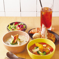 eat more SOUP&BREAD - 2種類の選べるスープセット ハーフ&ハーフセット