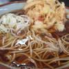 文殊 - 料理写真:360えん かきあげそば2013.8
