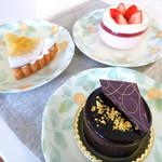 菓子工房 BooHooWoo - ケーキ達