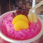 近藤製飴本舗 - 料理写真:イチゴミルク(2013年8月撮影)