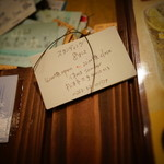 21035459 - 手書きの名刺、オシャレですねぇ