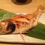 和洋旬菜 新 - のどぐろの塩焼き