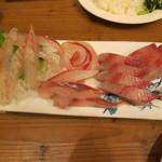 おこじょ - 若狭 地魚のさしみ