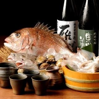 山口を中心に諸国漁場から旬魚を直送!