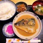 江の本 - 江の本 @西葛西 さば味噌煮定食 850円
