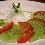 咲くら - 「青トマトのカルパッチョ」