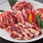 がんこ亭 - 料理写真:焼肉盛り合わせ