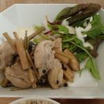 Rensa - 蒸し鶏