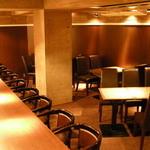 日比谷 Bar - 落ち着いた店内で、どうぞごゆっくりとお楽しみ下さい。
