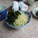 さくら - サラダ(梅酢で)