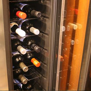 特選ワインを取り揃えております!