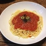 ルームズ - トマトソースのパスタ