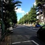 天の勢 地球カレー - 自転車に乗って撮りました。これもいわゆる「自撮り」