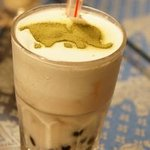 2105210 - Green エレファント(ココナッツリキュール・シロップ・緑茶・ミルク・タピオカ)