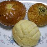 マルベリー - メロンパン、レモンパン、まるポテト