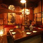 地鶏炭火焼 鳥亭 - 昔のあの頃を思い出す懐かしの空間を演出。