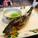 柳家 - 長良川 天然鮎蓼酢