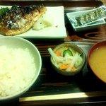 花菱 - さばの塩焼定食