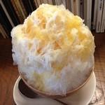 シナモンカフェ - キャラメルミルク500円
