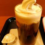 カフェ・ベローチェ - ...「プリモカフェ(260円)」、アイス入りコーヒー??