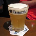 ビリー・バルゥーズ・ビア・バー - ベルギーのヒューガルデンビール(900円)