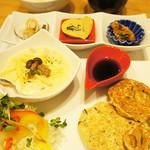 ウーマイ - 料理写真:オススメプレート定食 780円☆【限定!!】豆腐ハンバーグ