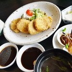 ステーキのしらかわ - 料理写真:ヒレカツランチ998円