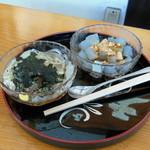 盛田屋 - 酢醤油と黒蜜の心太