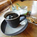 茶房 かわせみ - ダッチコーヒー(450円)チョコ付♪