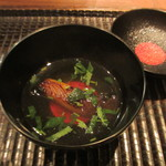 GINZA 水野 - マナガツオのお椀