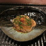GINZA 水野 - カワハギ 肝ソース