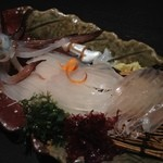 三海の華 - 函館産活イカのお刺身