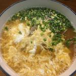そば処 十割や - 卵とじ蕎麦(900円)