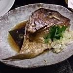 磯料理 元海 - 鯛のおかしら