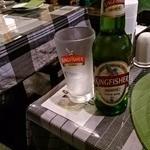 マドラスミールス - キングフィッシャー(ビール)