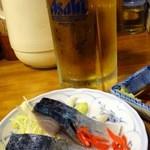 居酒屋しげみ - 2012.4きずし
