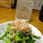 居酒屋しげみ - 2012.4菜の花