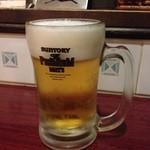 レストラン 沙羅沙 - 生ビール