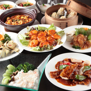西安の手作り点心と刀削麺をお得なコースでもお召し上がりいただけます。