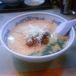 古寿茂 - ランチサービスの坦々麺(550円)です