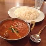 ナマステダイニング - Lunch マトンカレー¥850