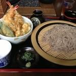 滝野庵 - 天丼セット ¥945