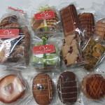 21070909 - 焼き菓子いろいろ