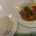 21071242 - 生姜焼き定食